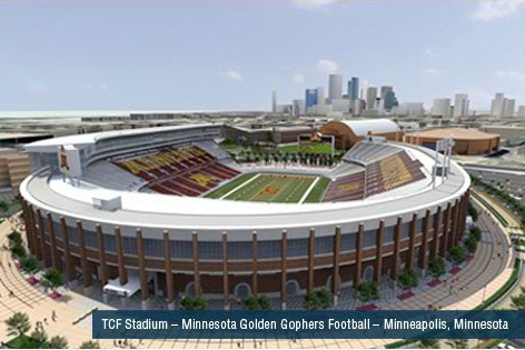 TCF Stadium - Minneapolis, MN